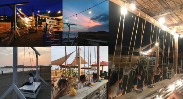 鎌倉材木座海岸 海の家「Bon-Sai」広告スポンサー募集のご案内
