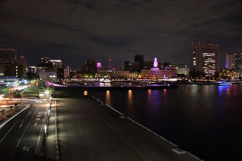 横浜みなとみらい夜景スポット 大さん橋
