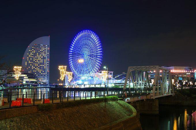 横浜みなとみらい夜景スポット 汽車道