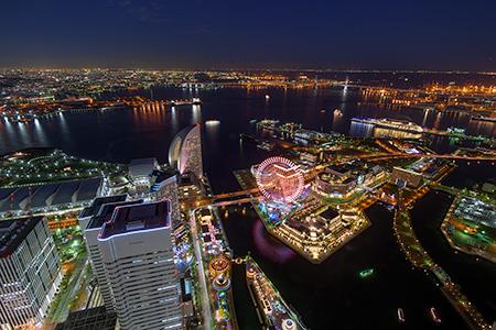 横浜みなとみらい夜景スポット 横浜ランドマークタワー