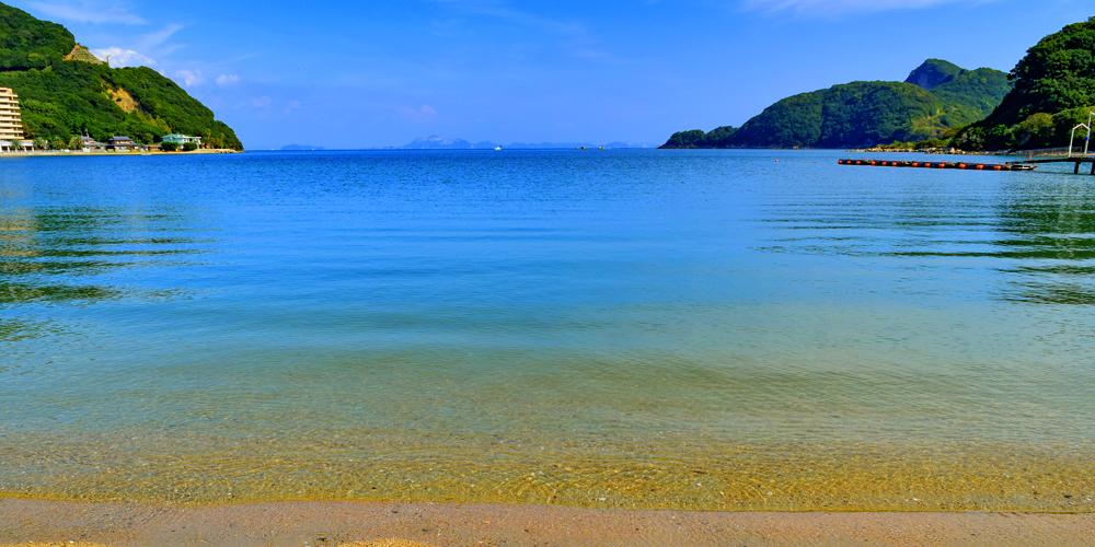 瀬戸内海を堪能しよう!小豆島で海水浴が楽しめるプライベートビーチ